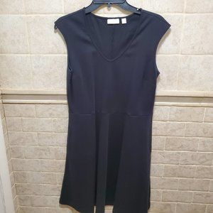 NYC BLACK MIDI DRESS